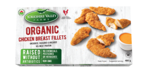 Organic Breaded Chicken Fillets